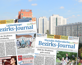Die August-Ausgaben vom Bezirks-Journal. Foto: Bezirks-Journal